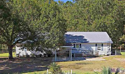 Livingston Single Family Home For Sale: 28077 S Satsuma Rd