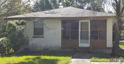 Baton Rouge LA Single Family Home For Sale: $89,900