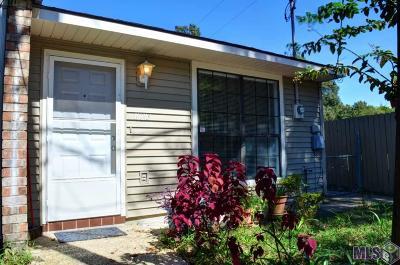 Baton Rouge LA Condo/Townhouse For Sale: $85,900