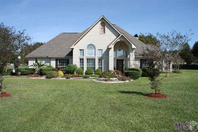 Zachary Single Family Home For Sale: 22850 Plainsland Dr