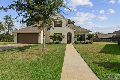 Zachary Single Family Home For Sale: 7398 Marshall Bond Dr