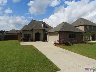 Denham Springs Single Family Home For Sale: 33997 Osprey