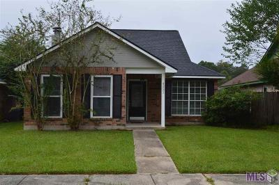 Baton Rouge LA Single Family Home For Sale: $143,000