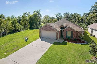 Prairieville Single Family Home For Sale: 15427 Oakstone Dr