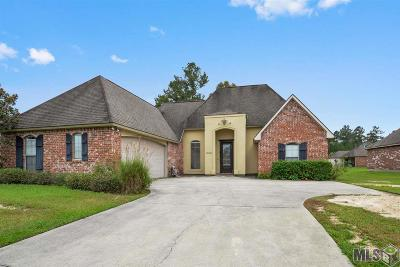 Denham Springs Single Family Home For Sale: 38668 Redbud Ln