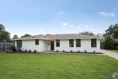 Greenwell Springs Single Family Home For Sale: 2824 Lydia Ave