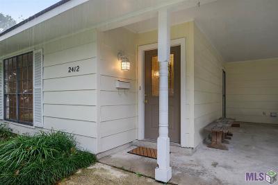 Baton Rouge LA Single Family Home For Sale: $181,000