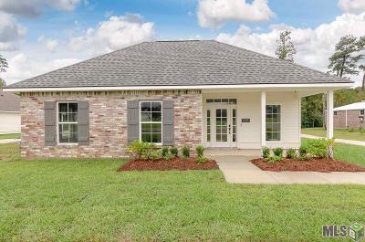 Prairieville Single Family Home For Sale: 18067 Diaz Rd