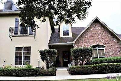 Prairieville Condo/Townhouse For Sale: 18639 Perkins Rd #5