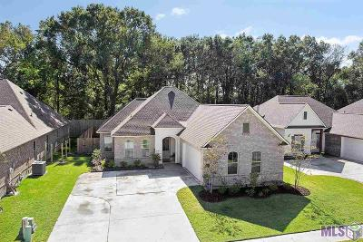 Prairieville Single Family Home For Sale: 39189 Water Oak Ave