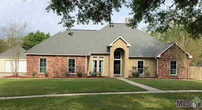 Denham Springs Single Family Home Contingent: 30741 Summer Run Ct
