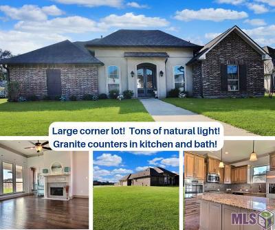 Denham Springs Single Family Home For Sale: 33987 Osprey