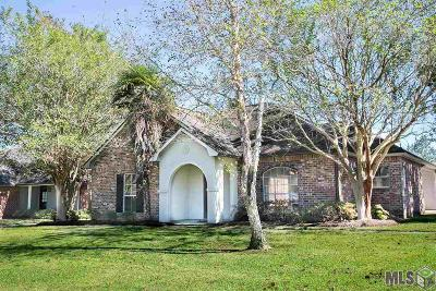 Prairieville Single Family Home For Sale: 17408 Les Chenier