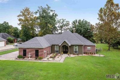 Prairieville Single Family Home For Sale: 18286 Magnolia Oaks Dr