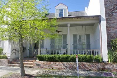 Baton Rouge Condo/Townhouse For Sale: 11544 Settlement Blvd