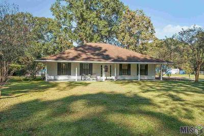 Denham Springs Single Family Home For Sale: 11131 Buddy Ellis Rd