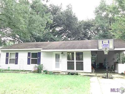 Denham Springs Single Family Home For Sale: 1210 Don Ave