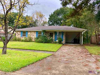 Baton Rouge Single Family Home For Sale: 11669 Willow Oak Ave