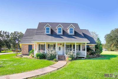 Prairieville Single Family Home For Sale: 17577 Joe Sevario Rd