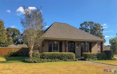 Zachary Single Family Home For Sale: 6470 Sandy Creek Ln
