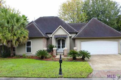 Denham Springs Single Family Home For Sale: 101 La Maison Belle