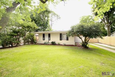 Baton Rouge LA Single Family Home For Sale: $245,000