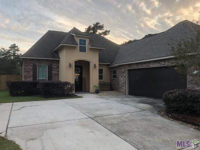 Denham Springs Single Family Home For Sale: 13892 Cobblestone Dr