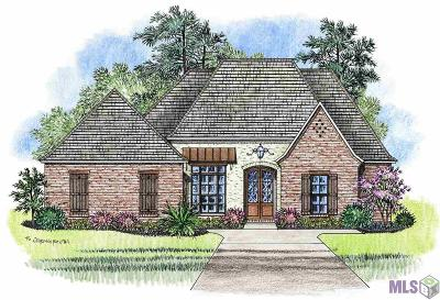 Denham Springs Single Family Home For Sale: 25828 Royal Birkdale