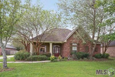 Prairieville Single Family Home For Sale: 16459 Majestic Oak Dr