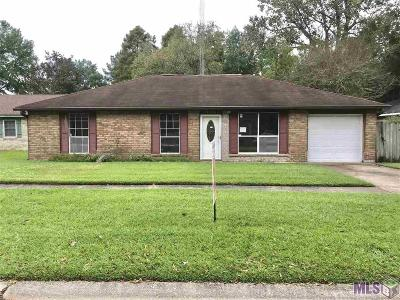 Baton Rouge Single Family Home For Sale: 13736 Broad Ct