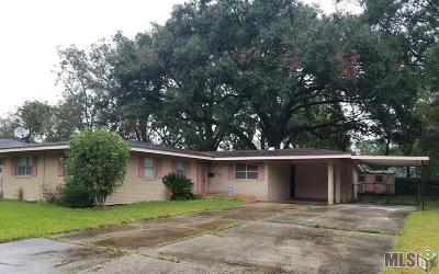 Baton Rouge Single Family Home For Sale: 3152 Charlotte Dr