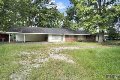 Baton Rouge Single Family Home For Sale: 9178 Hooper Rd