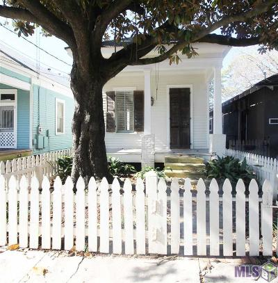 Baton Rouge Single Family Home For Sale: 631 N 8th St