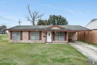 Baton Rouge LA Single Family Home For Sale: $145,000