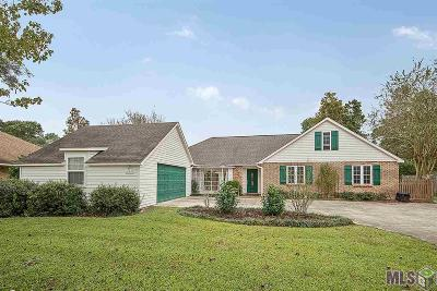 Baton Rouge Single Family Home For Sale: 12225 Chester Dr