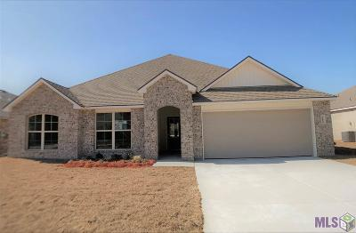 Denham Springs Single Family Home For Sale: 12924 Fowler Dr
