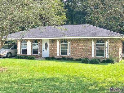 Denham Springs Single Family Home For Sale: 2210 Jerlyn Dr