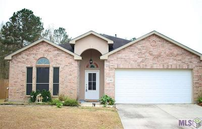 Denham Springs Single Family Home For Sale: 11140 Ascension Ct