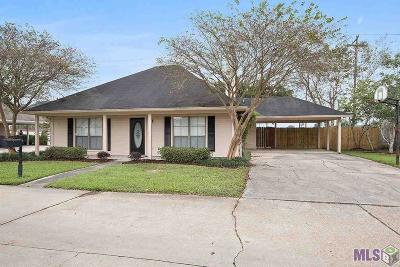 Baton Rouge Single Family Home For Sale: 3645 James Victor Dr
