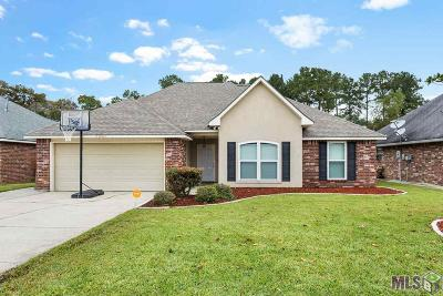 Denham Springs Single Family Home For Sale: 23883 Sandlewood Ct
