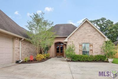 Denham Springs Single Family Home For Sale: 19878 Stone Hill Dr