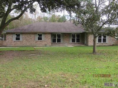 Baton Rouge Single Family Home For Sale: 11740 Foster Rd
