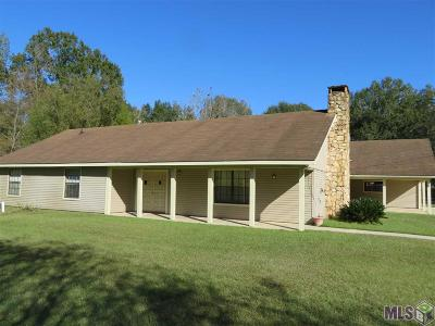 Zachary Single Family Home For Sale: 16340 Old Settlement Rd