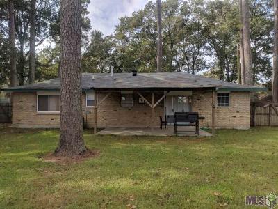 Denham Springs Single Family Home For Sale: 30706 Thunderbird Pl