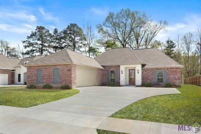 Denham Springs Single Family Home For Sale: 7334 Bessie Dr