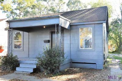 Baton Rouge LA Single Family Home For Sale: $65,000