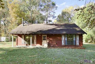 Zachary Single Family Home For Sale: 21715 Noble Reames Rd