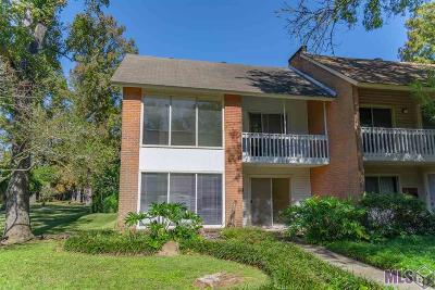 Baton Rouge Condo/Townhouse For Sale: 5540 Riverstone Dr