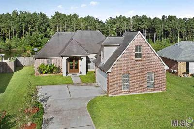 Denham Springs Single Family Home For Sale: 26078 Big Ben Dr