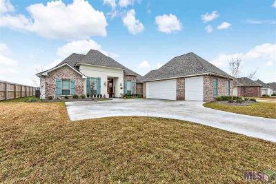 Denham Springs Single Family Home For Sale: 7227 Bessie Dr